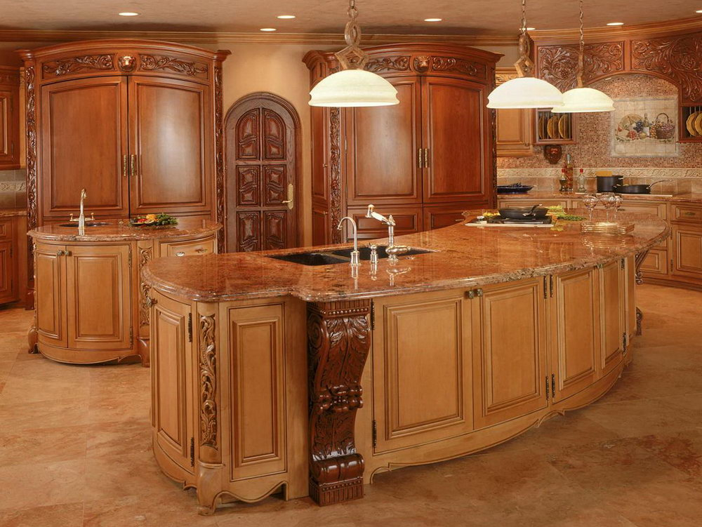 Island Kitchen Cabinets Design