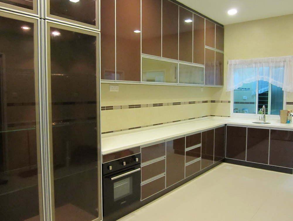 Kitchen Cabinet 3g Glass Door