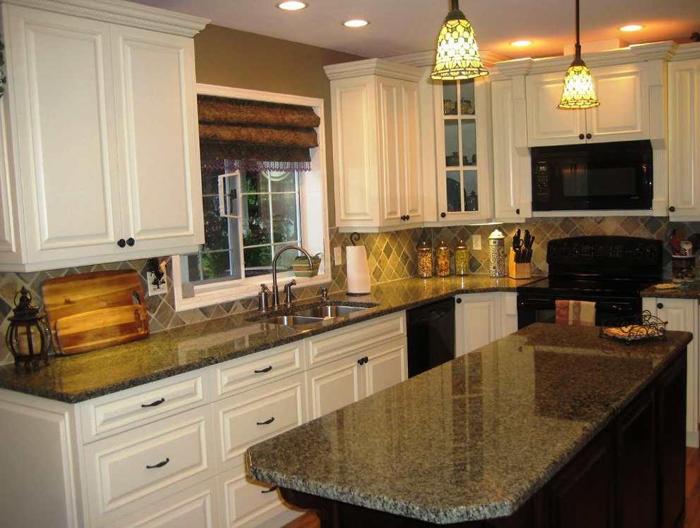 Kitchen Cabinet Cream Color