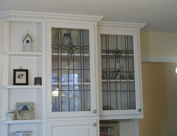 Kitchen Cabinet Door Glass Design