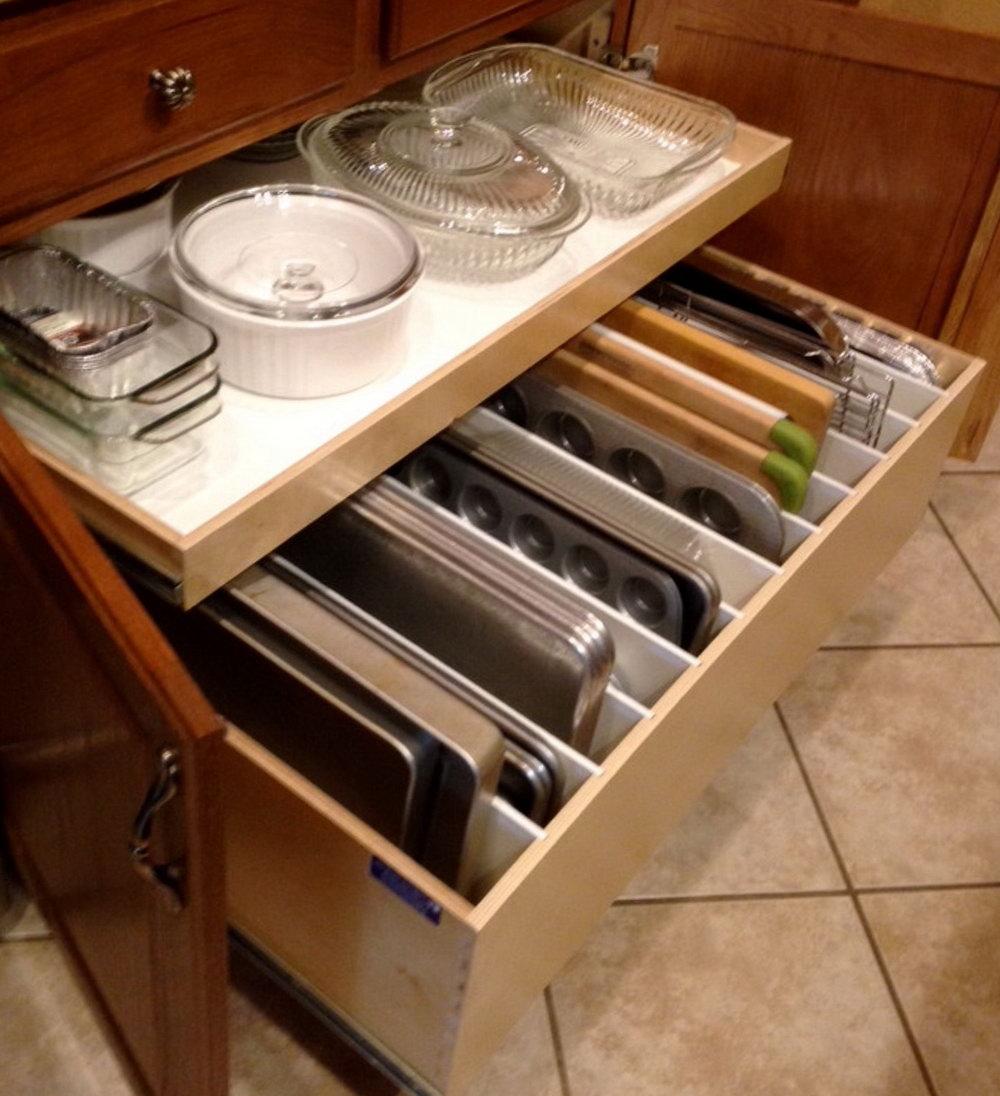 Kitchen Cabinet Drawer Repair Parts