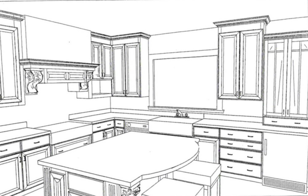 Kitchen Cabinet Drawings Pdf