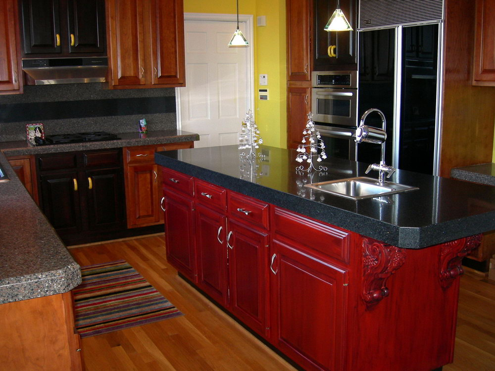 Kitchen Cabinet Finish Repair