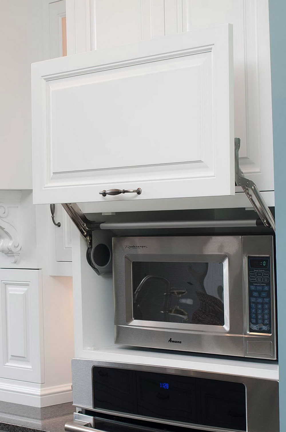 Kitchen Cabinet For Microwave Oven