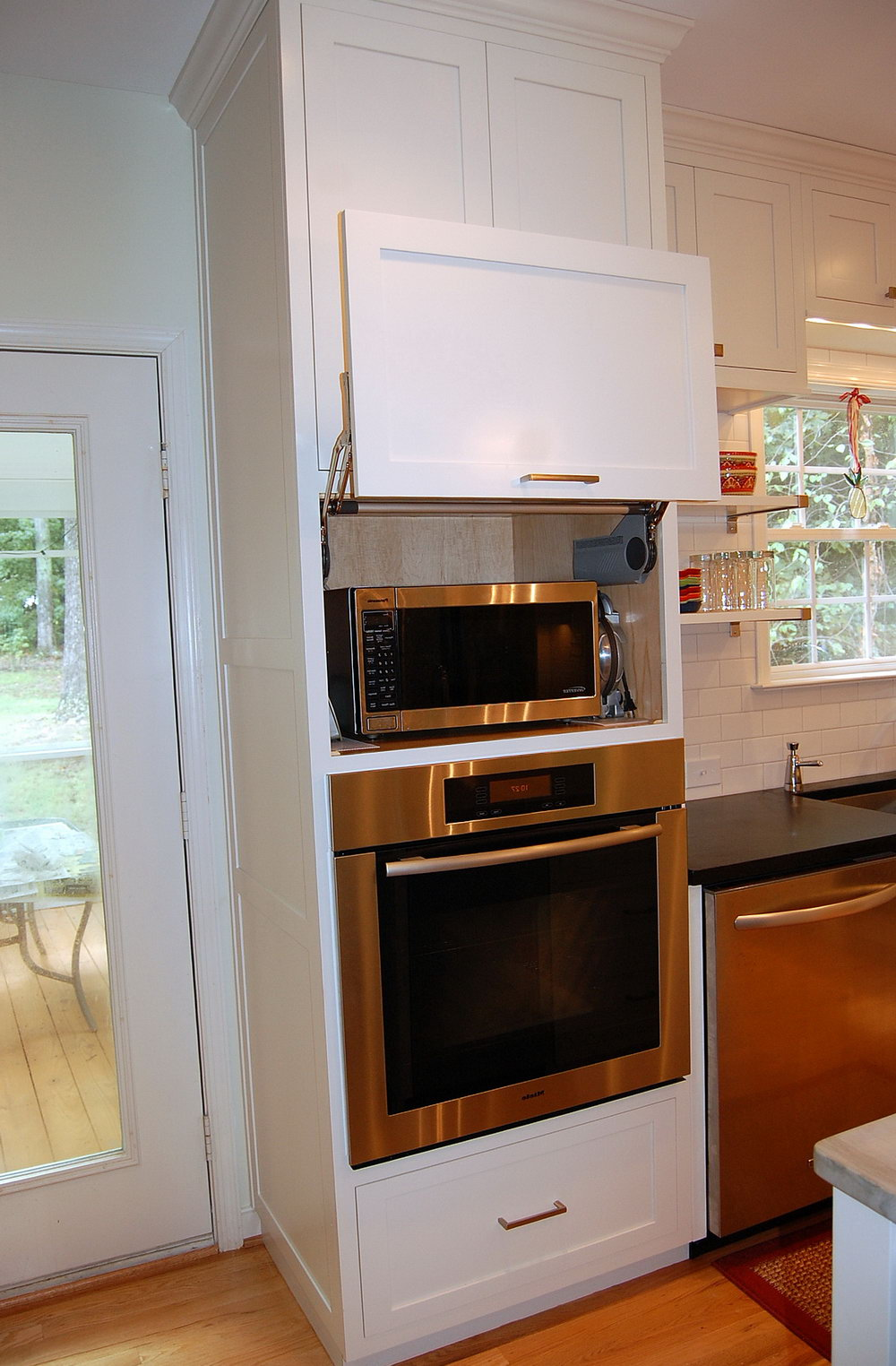 Kitchen Cabinet For Wall Oven And Microwave