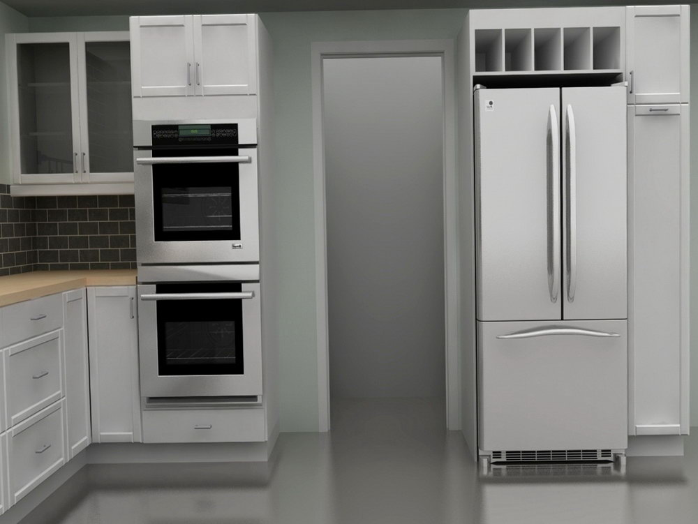 Kitchen Cabinet For Wall Oven