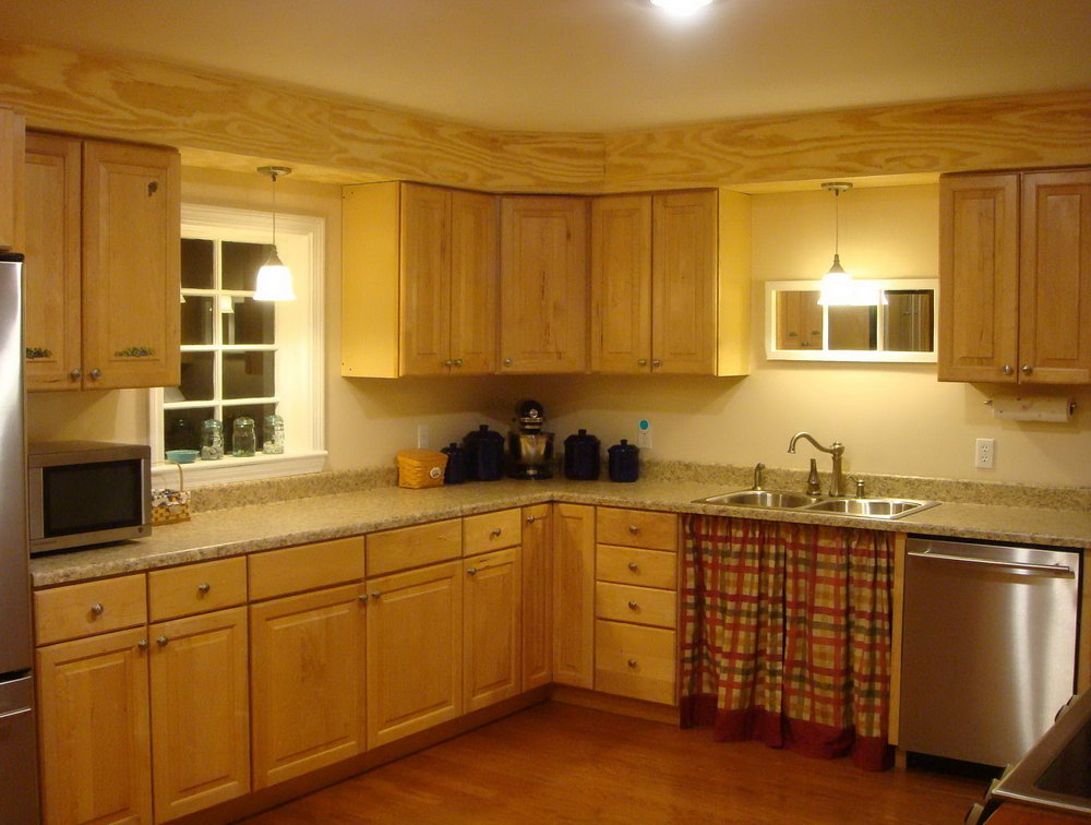 Kitchen Cabinet Soffit Design