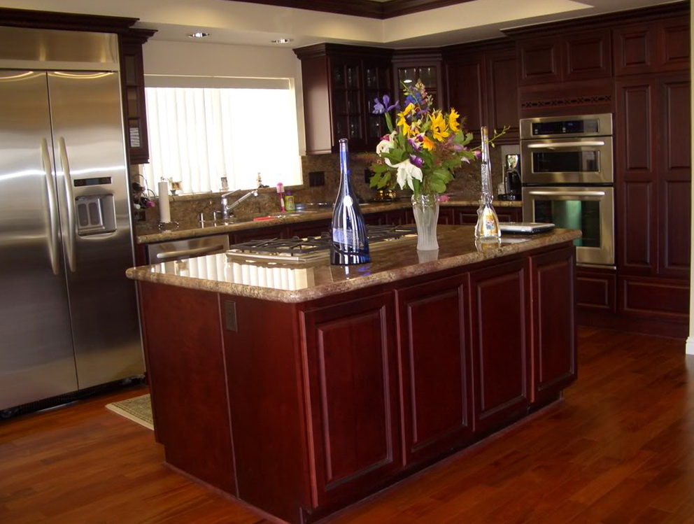 Kitchen Cabinets Cherry Wood