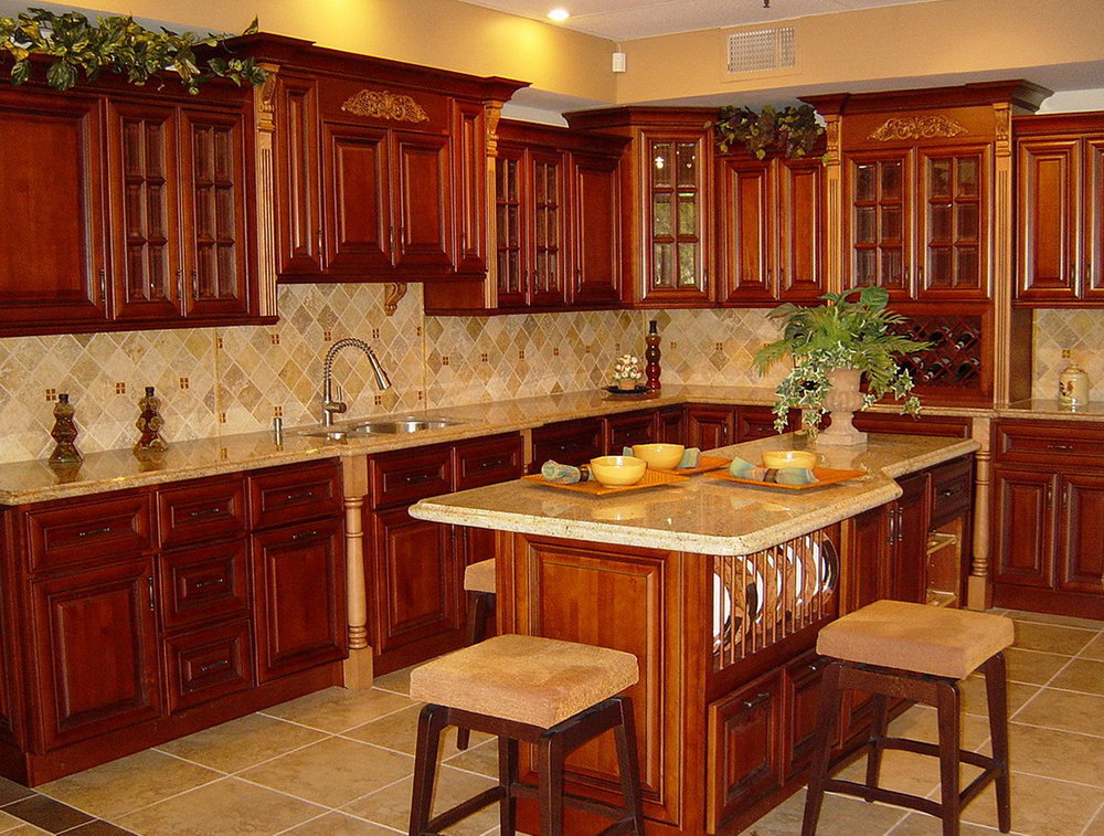 Kitchen Cabinets Cherry