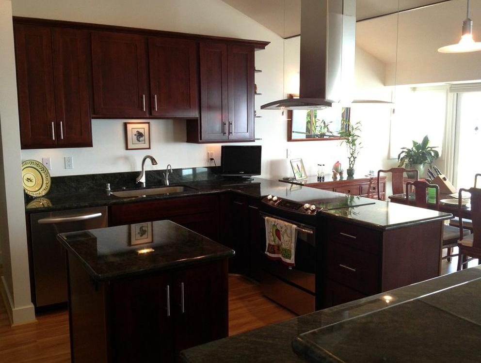 Kitchen Cabinets Espresso Finish