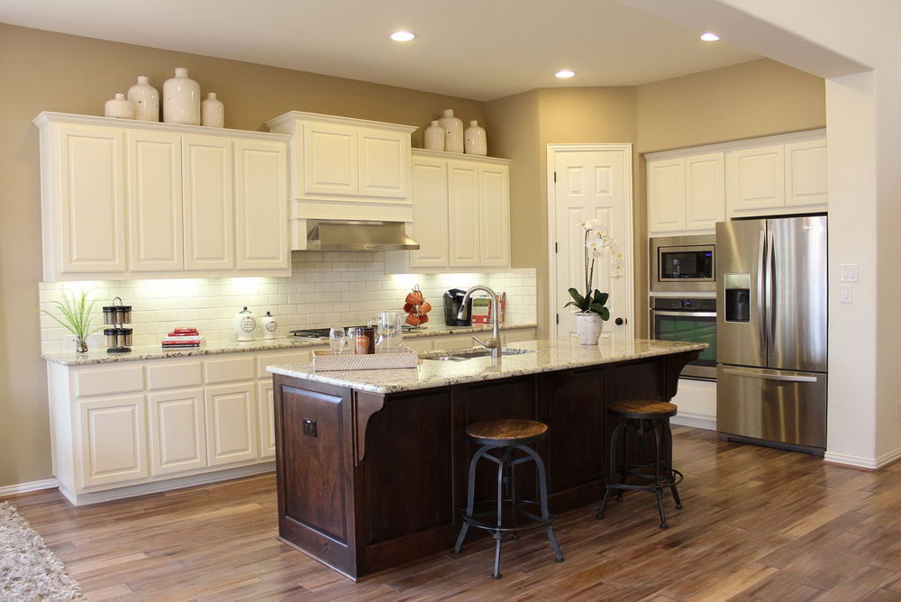 Kitchen Cabinets Rustic White