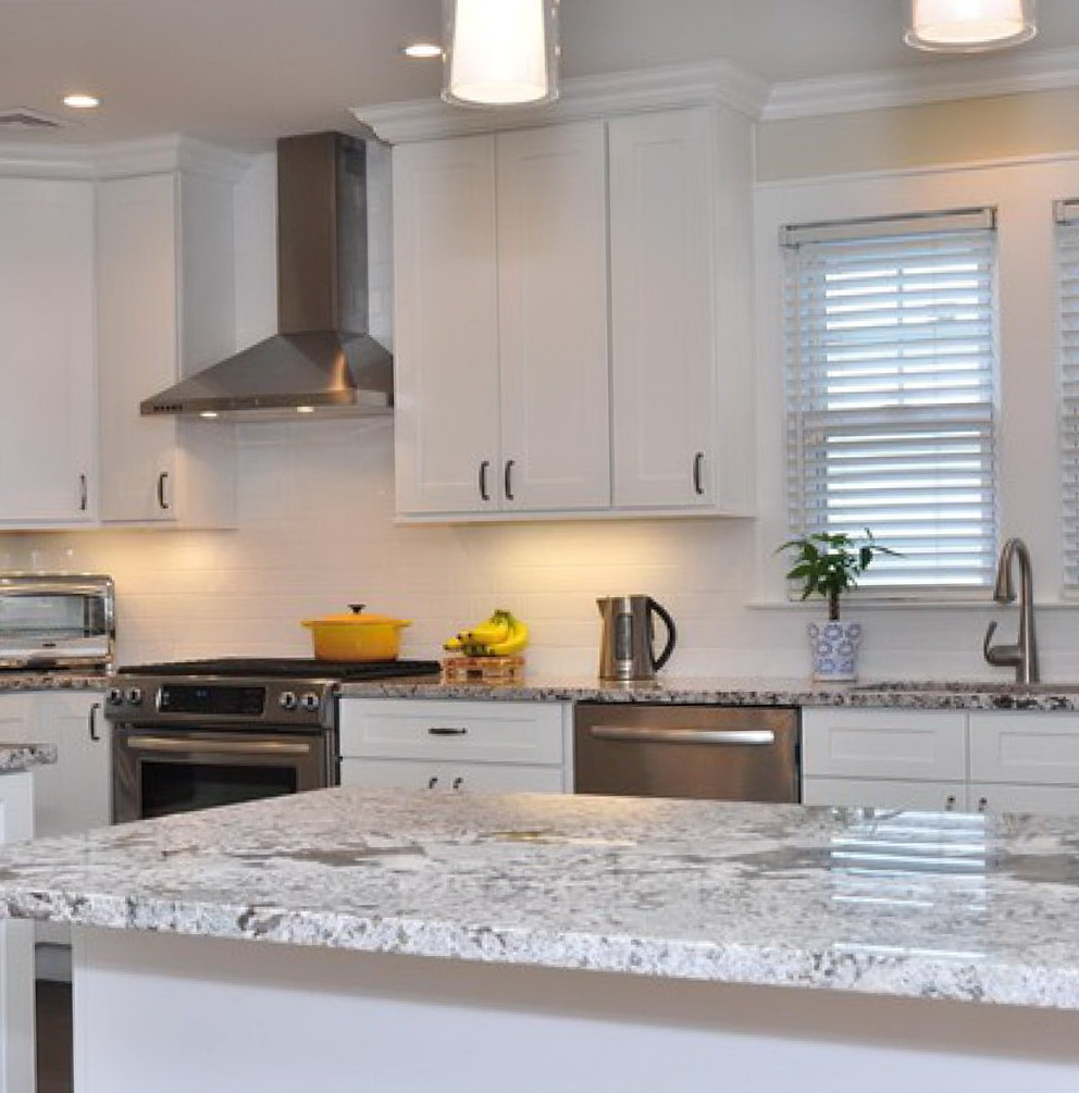 Kitchen Cabinets White Shaker Style