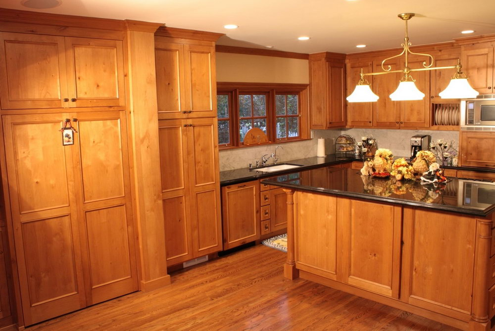 Kitchen Colors With Pine Cabinets