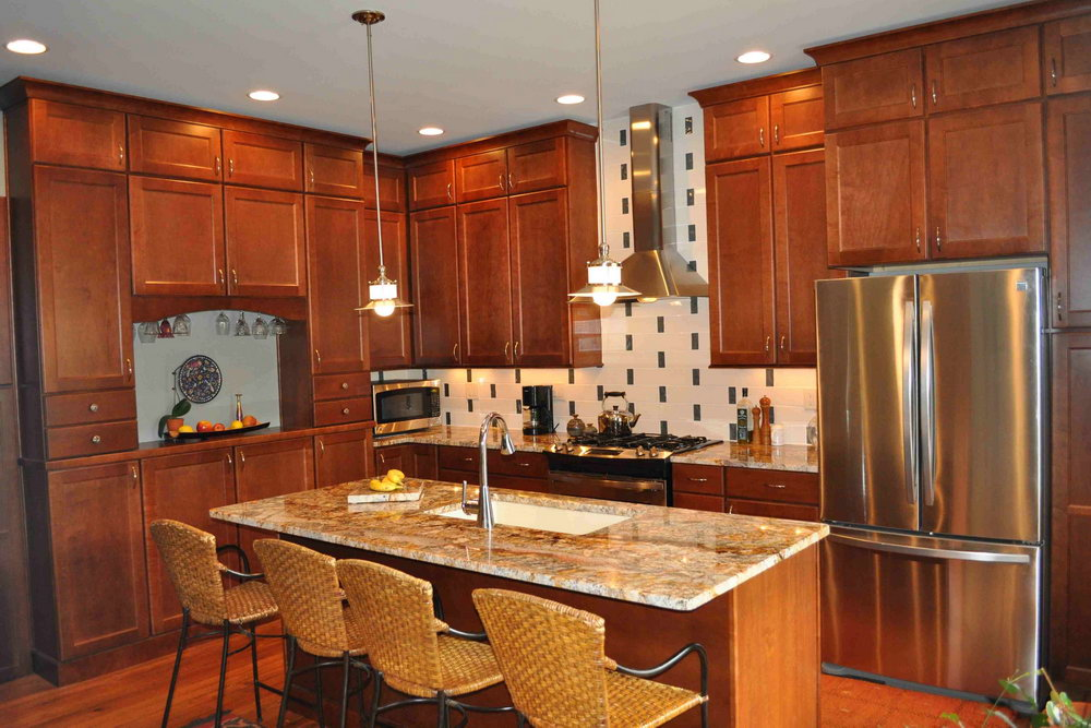 Kitchen Ideas Cherry Cabinets