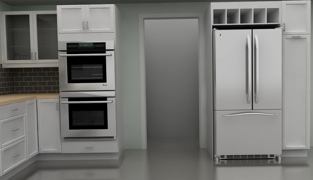 Kitchen Oven Cabinet Design