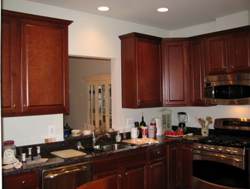 Kitchen Paint Color Ideas With Dark Cabinets