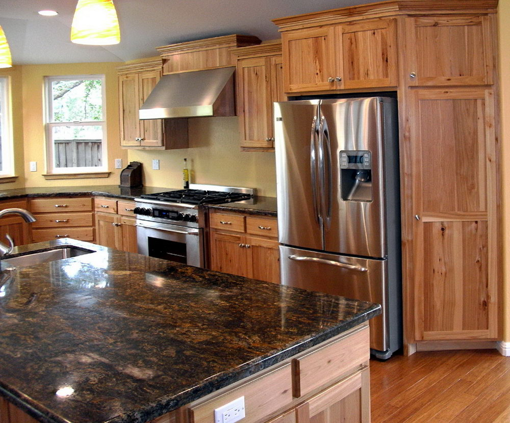 Kitchen Paint Colors With Hickory Cabinets