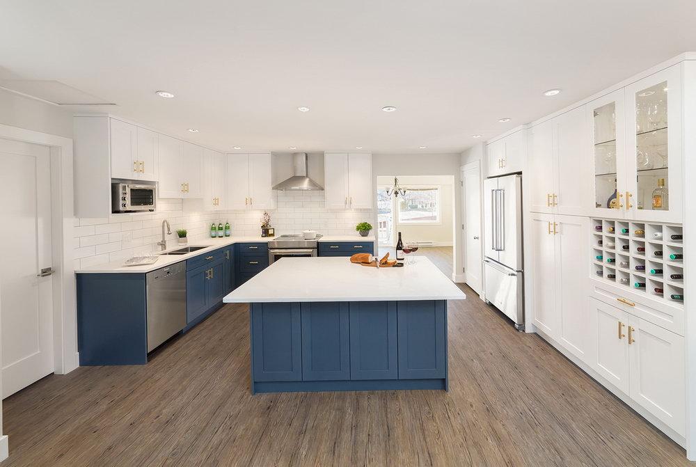 Kitchen Renovation Ideas White Cabinets