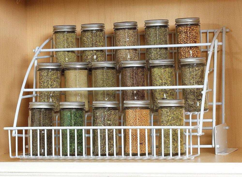 Kitchen Spice Cabinet Organizer
