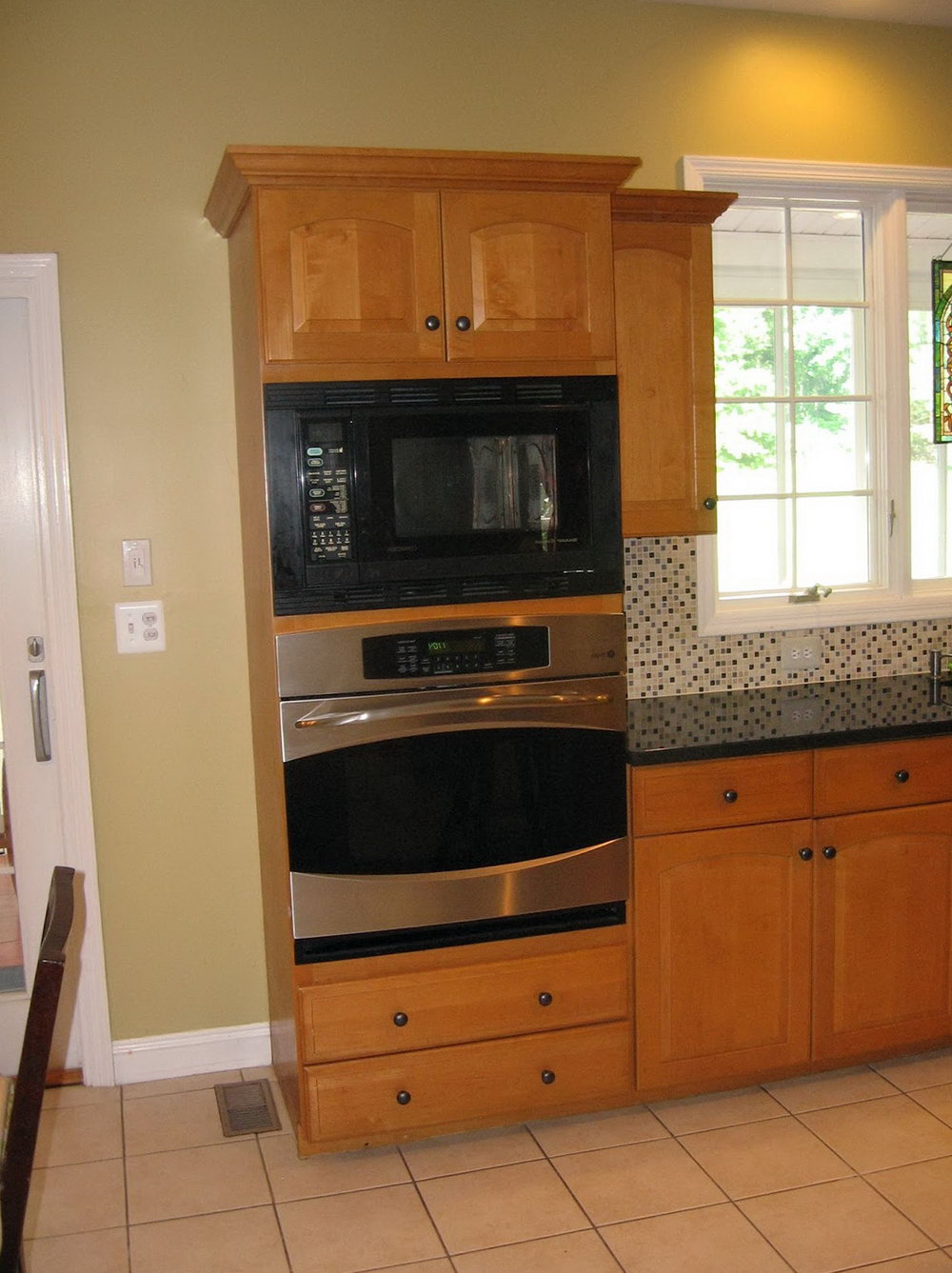 Kitchen Wall Cabinet For Microwave
