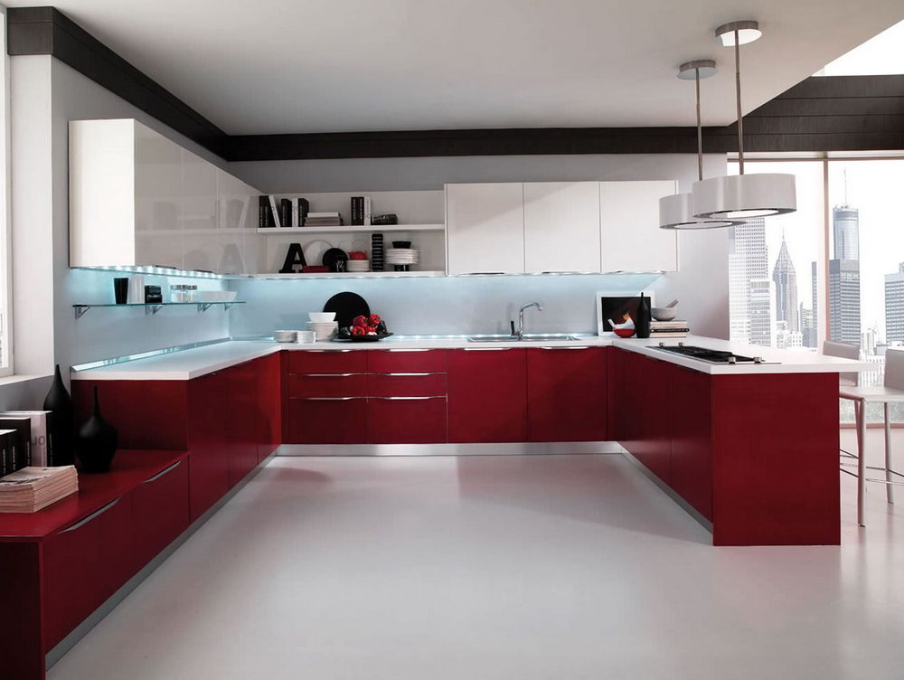 Lacquered Kitchen Cabinets For Sale
