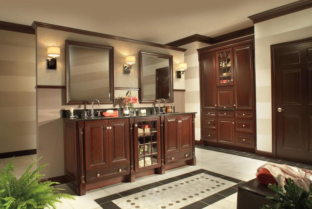 Merlot Kitchen Cabinets Lowes