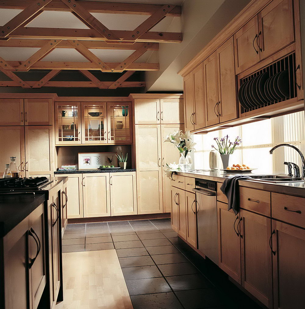 Natural Color Kitchen Cabinets