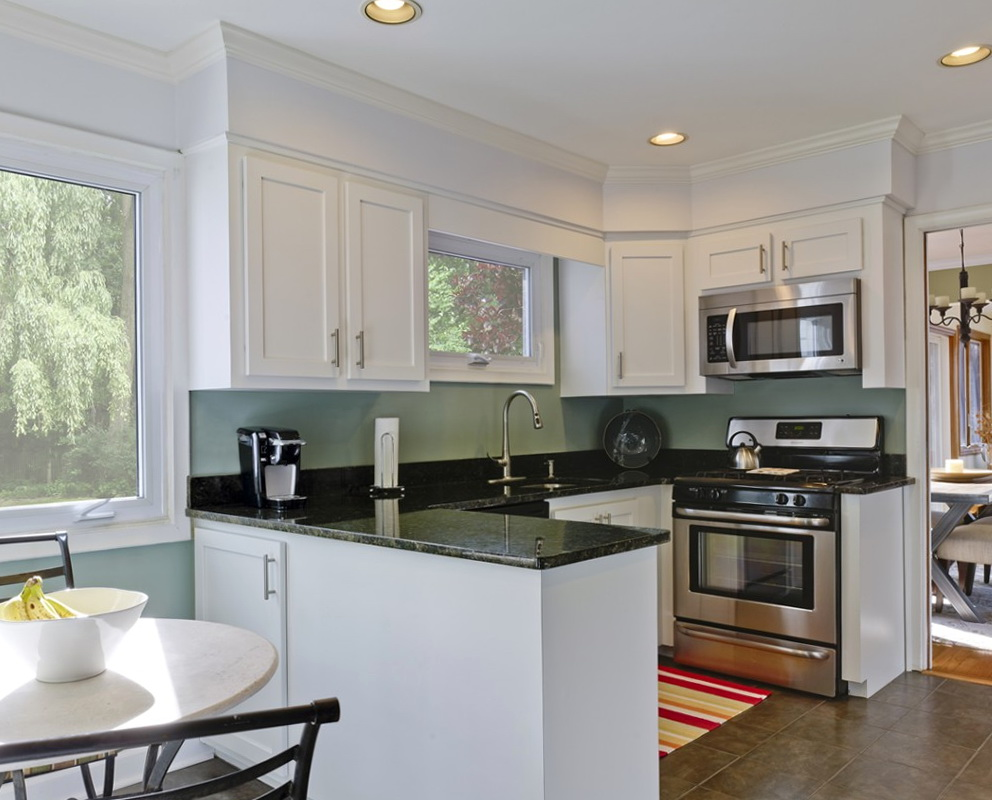 Paint Color For Kitchen With White Cabinets