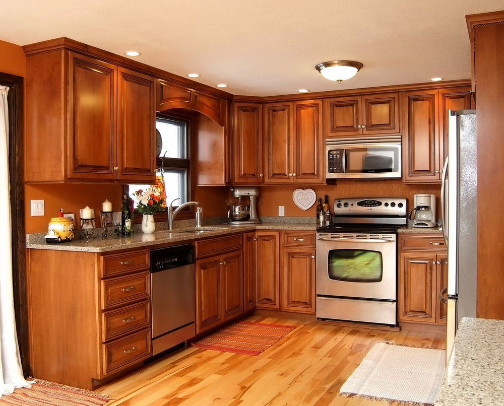 Paint Ideas For Kitchen With Maple Cabinets