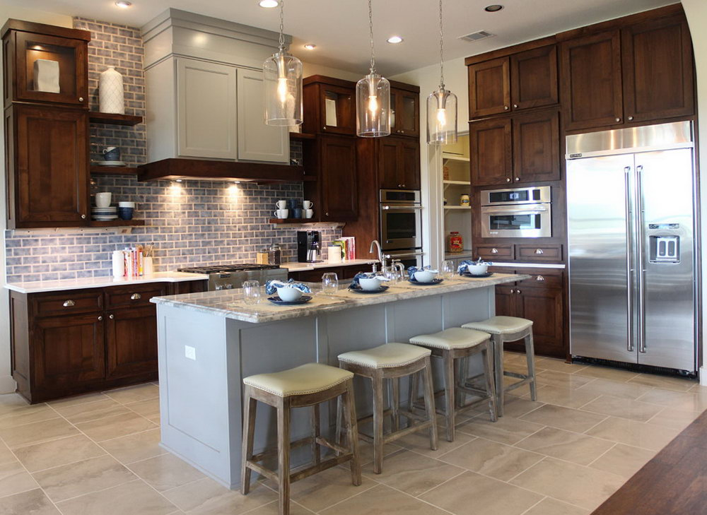 Painting Kitchen Cabinet Doors Different Color Than Frame