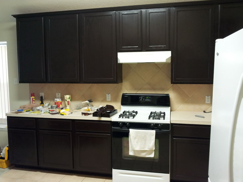 Painting Over Kitchen Cabinets Without Sanding