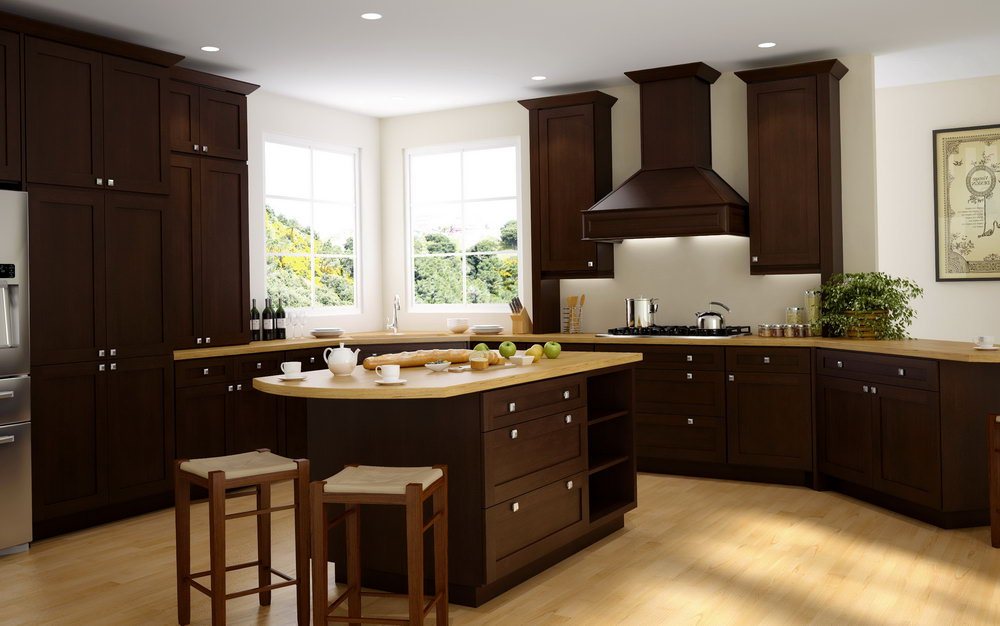 Shaker Cabinet Kitchen Island