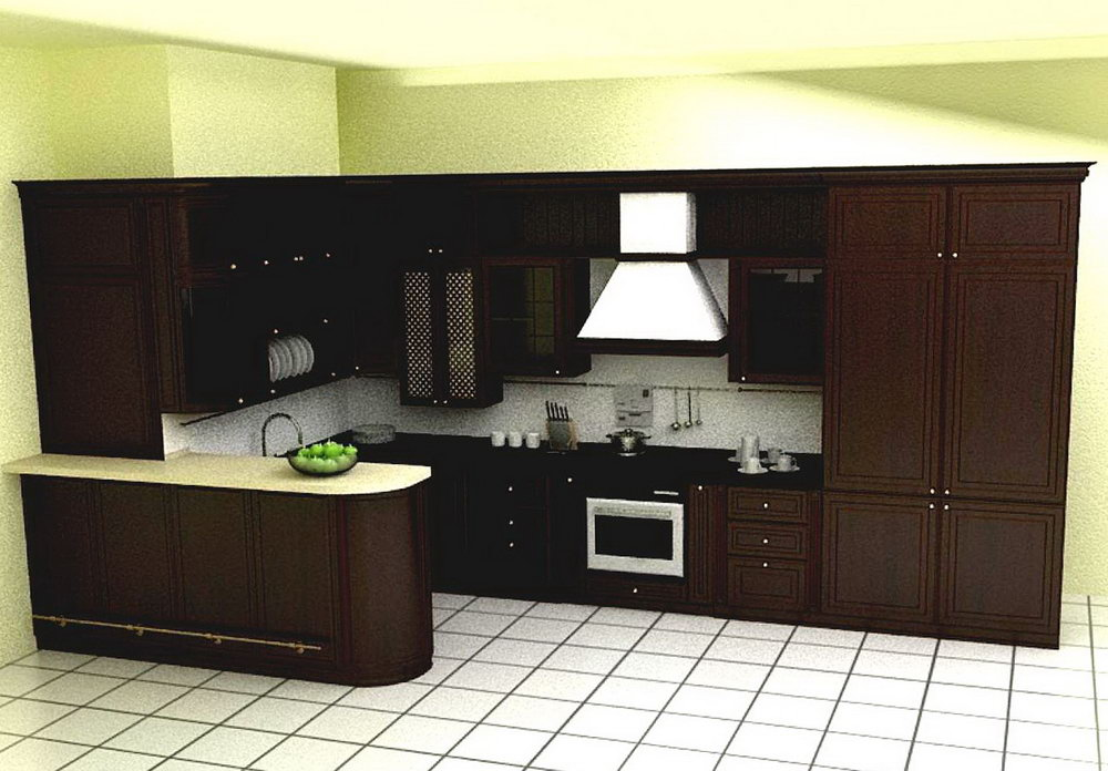 Simple Kitchen Cabinet Design L Shape