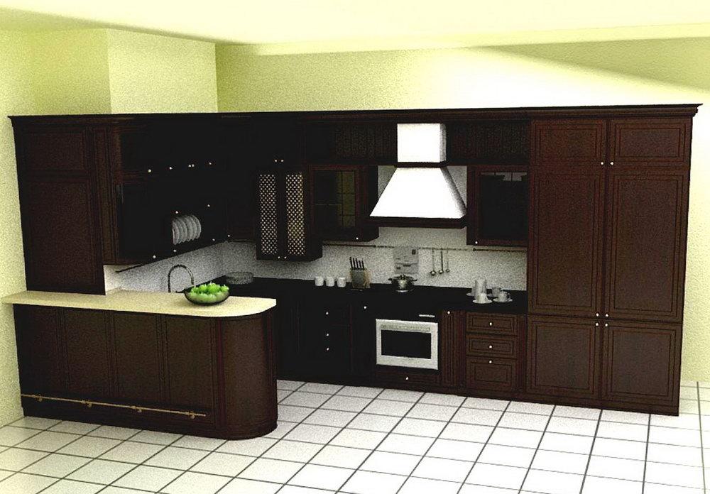 Simple Kitchen Cabinet Design L Shape