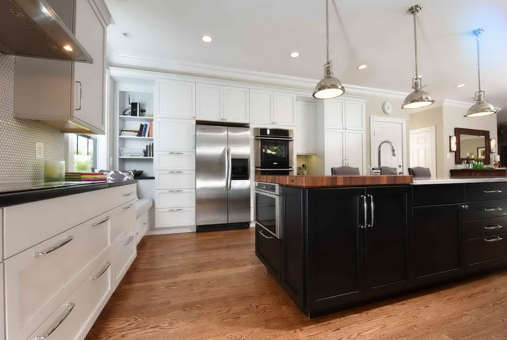 Simple Kitchen Open Cabinet Designs