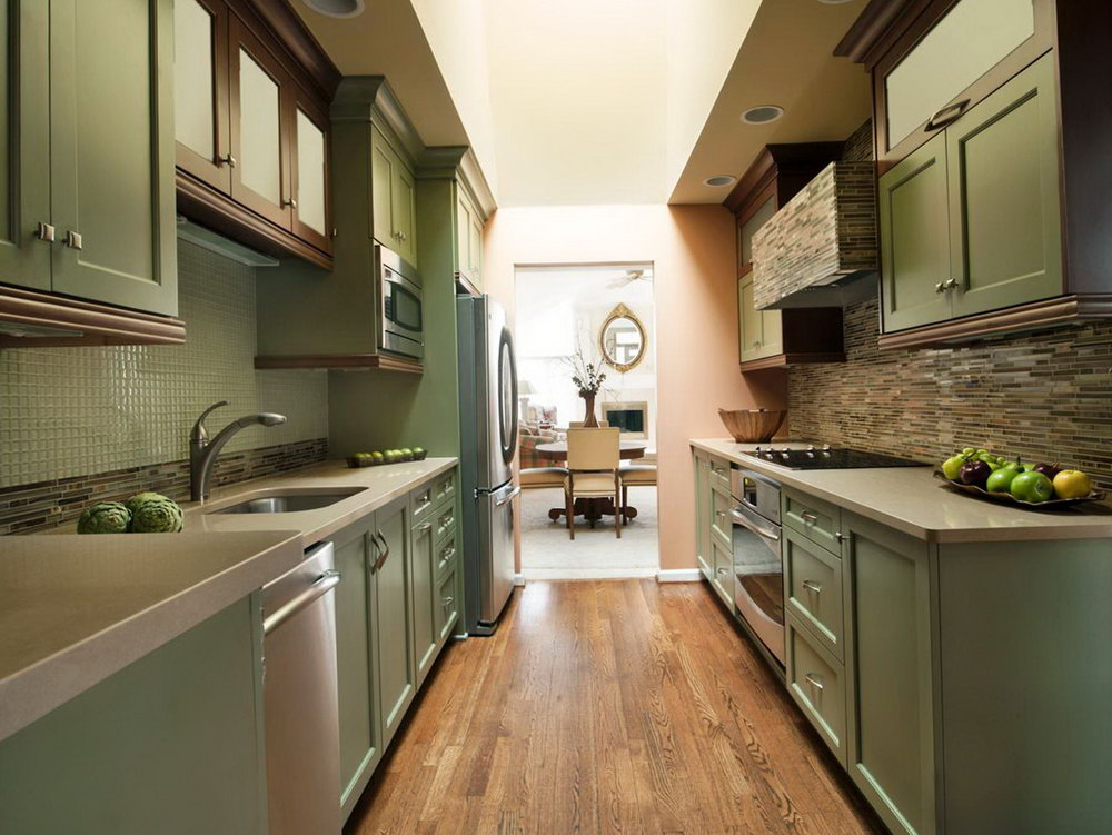 Small Galley Kitchen Cabinets