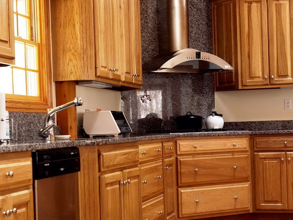 Small Kitchen Wooden Cabinets