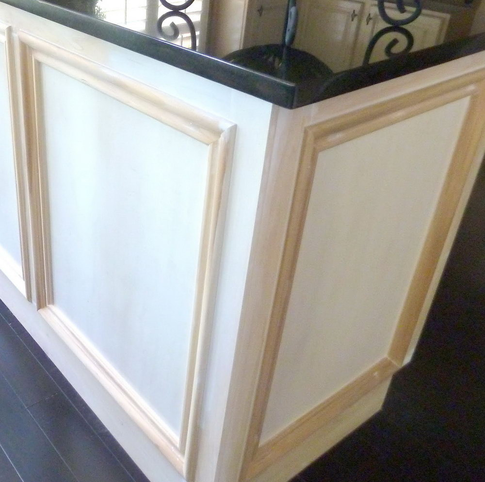 Update Kitchen Cabinet Doors With Molding