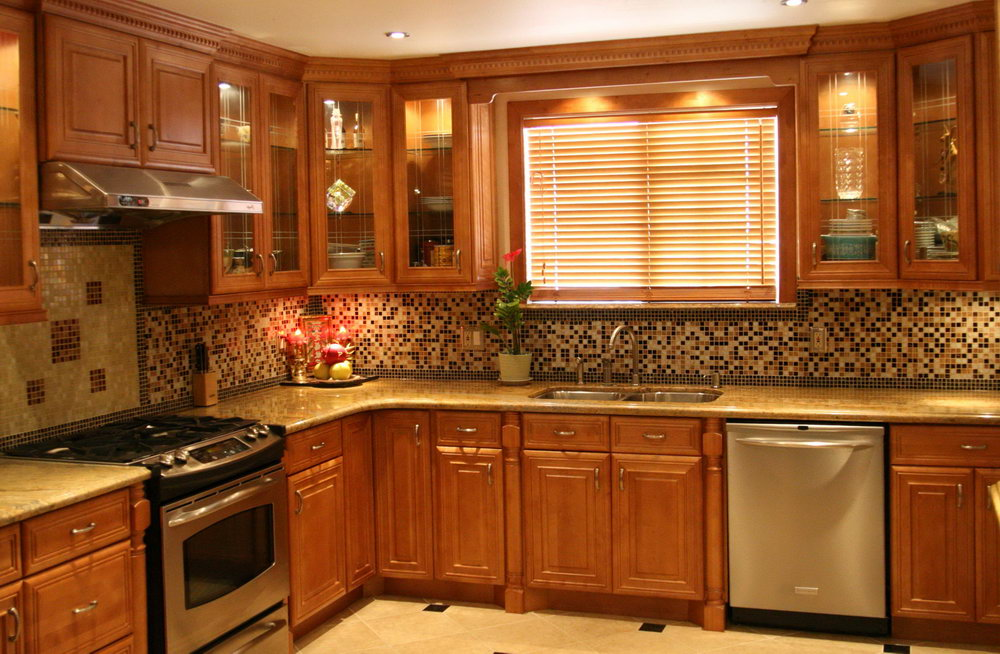Wallpaper Ideas For Kitchen Cabinets