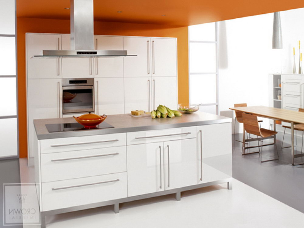 White Gloss Kitchen Cabinets
