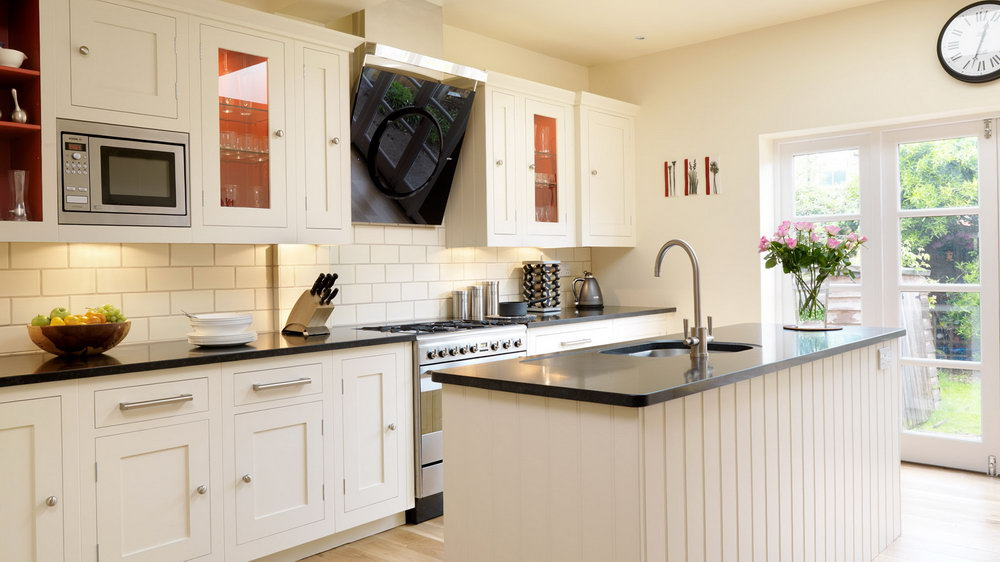 White Shaker Cabinet Kitchen