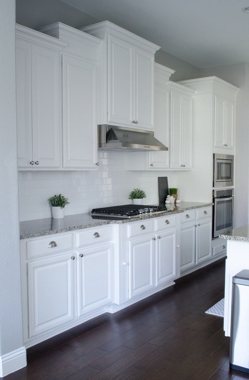 Youtube Painting Kitchen Cabinets White