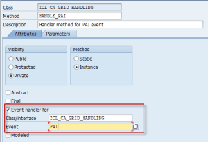 PAI Handler method interface