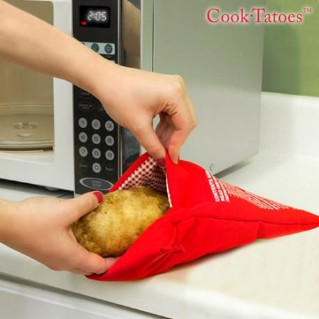 cook tatoes microwave potato bag boutique 3000