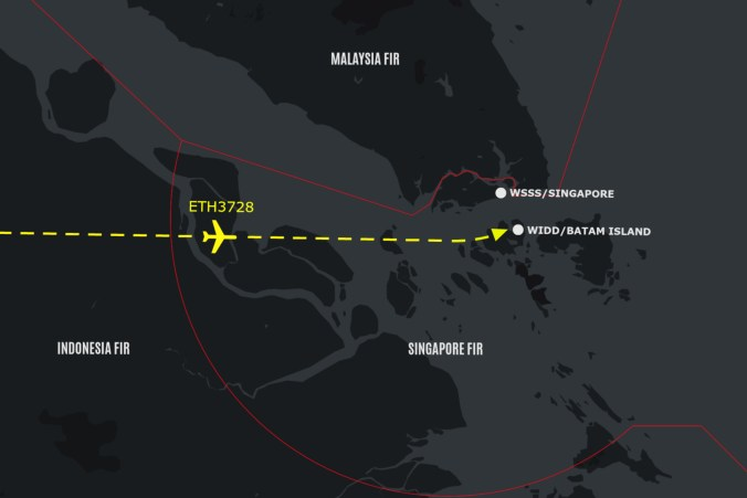 Indonesia is intercepting aircraft – outside their airspace ...