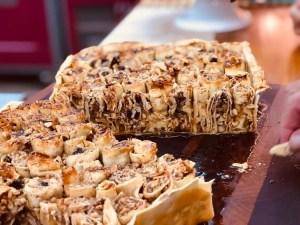 Torta Doce de Castanhas