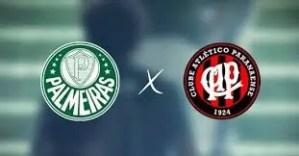 Palmeiras x Athlético-PR ao vivo