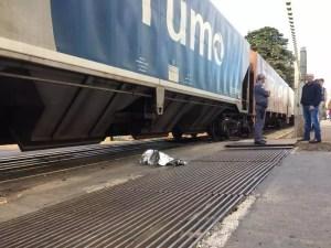 homem atropelado por trem em Rio Preto