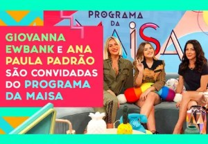 Programa da Maisa 22/06/2019