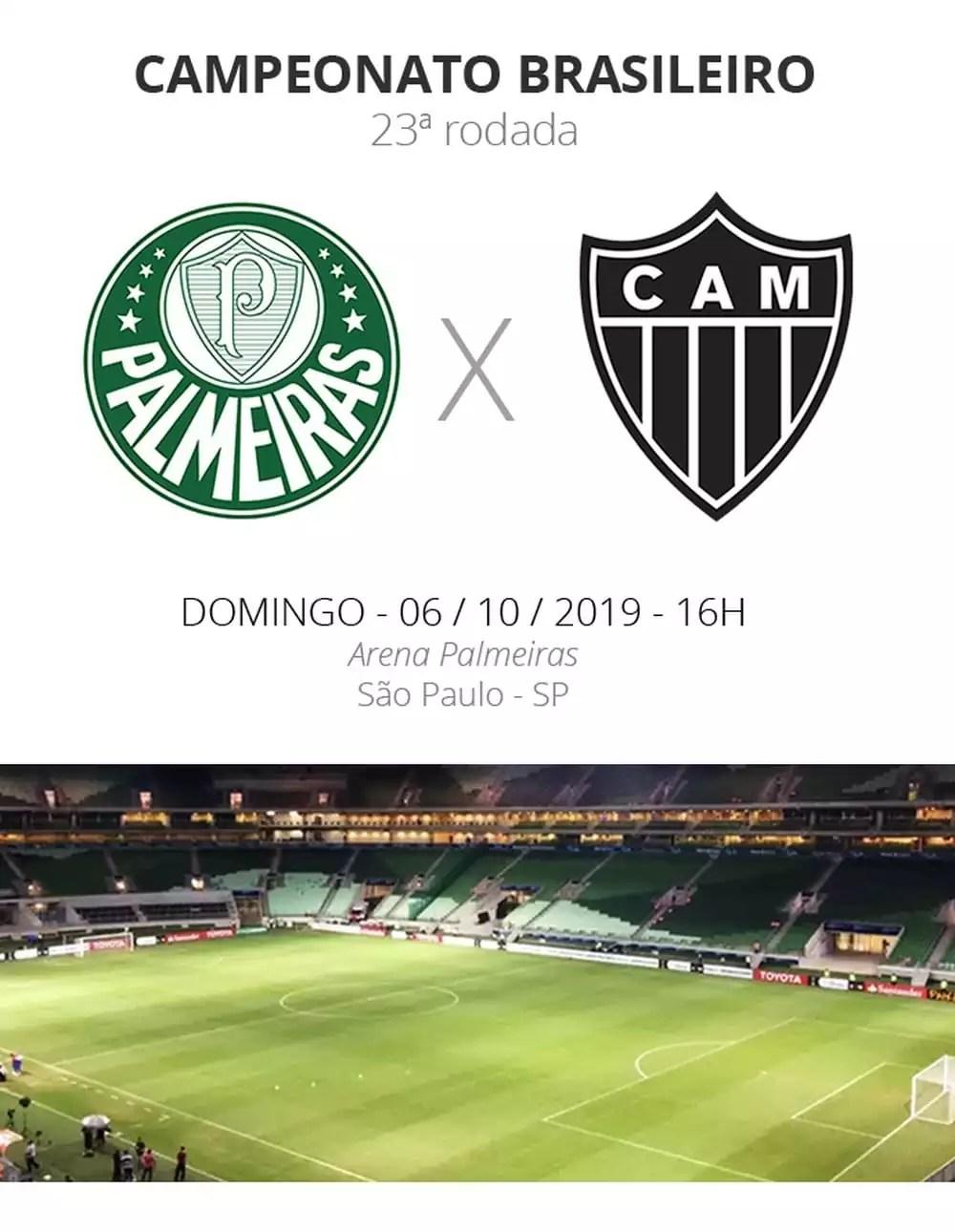 Palmeiras x Atlético MG